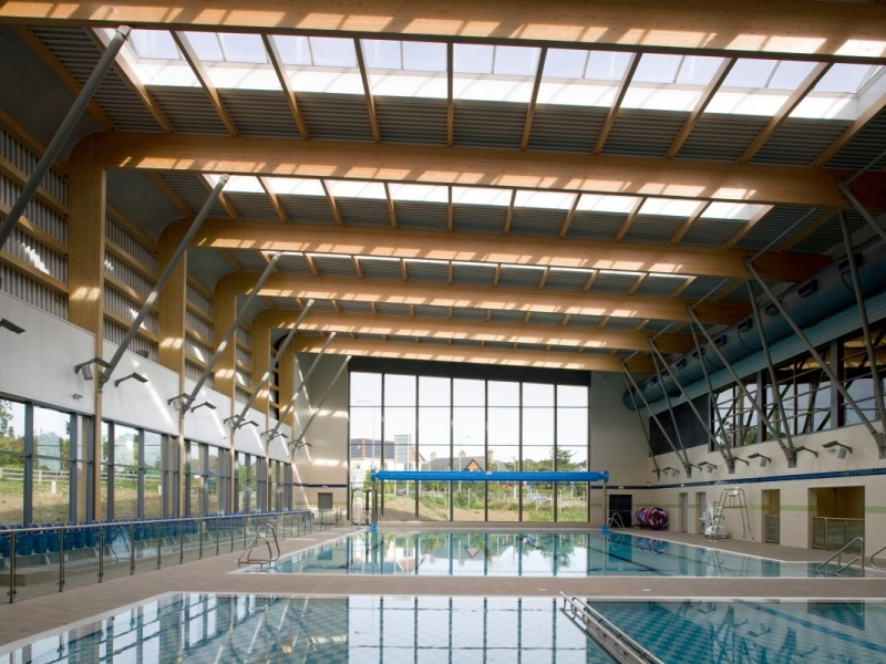 Interior image of Greystones Swimming Pool