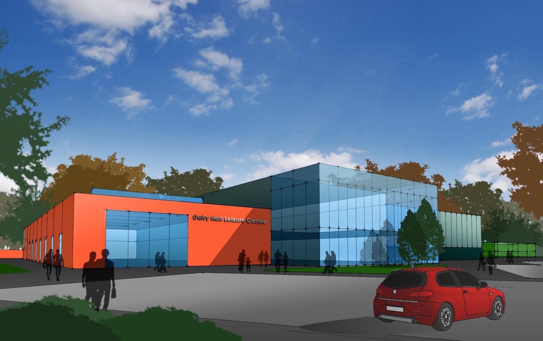 Exterior image of 3D Commercial Building Design