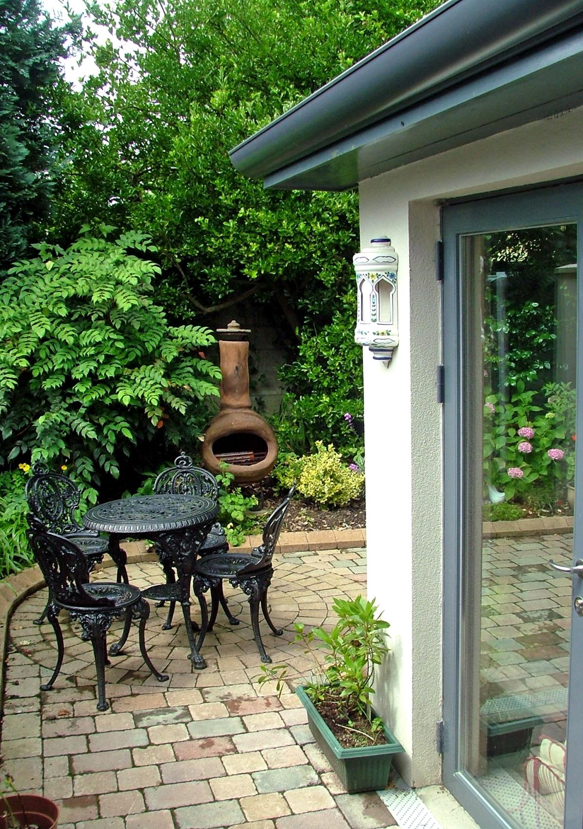 Exterior image of garden at Castleknock new build