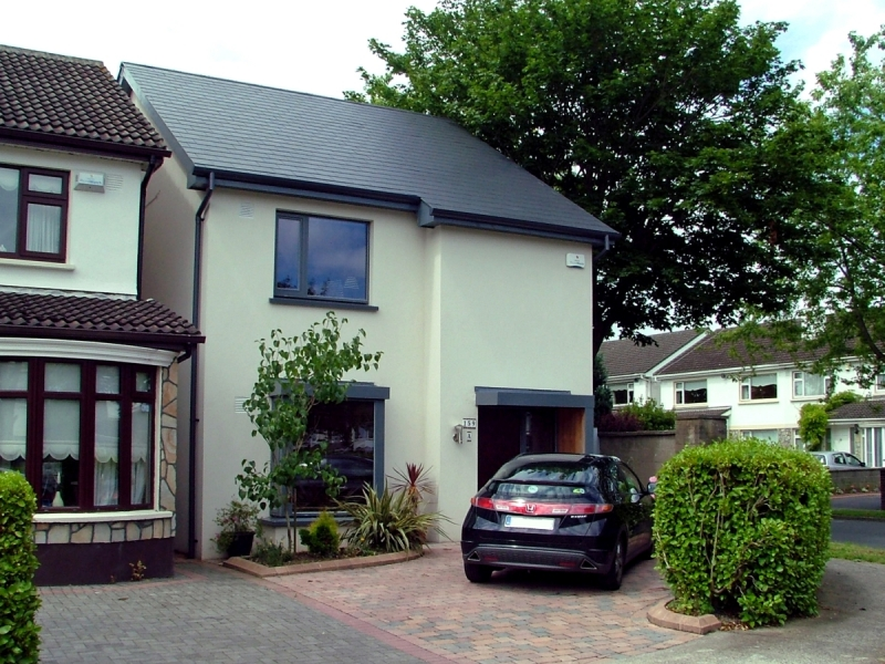 Exterior image of Castleknock new build from the drive