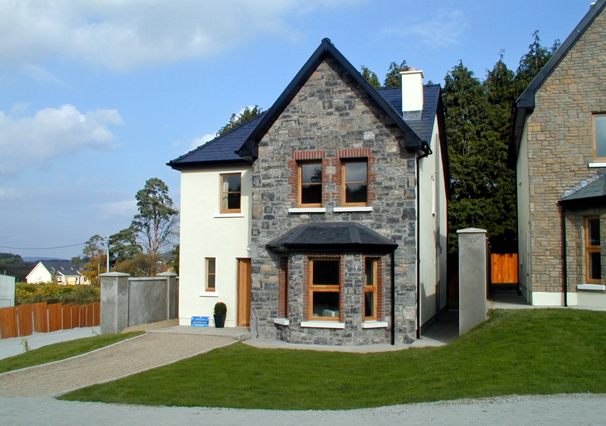 Image of exterior of individual house in Fairhaven development