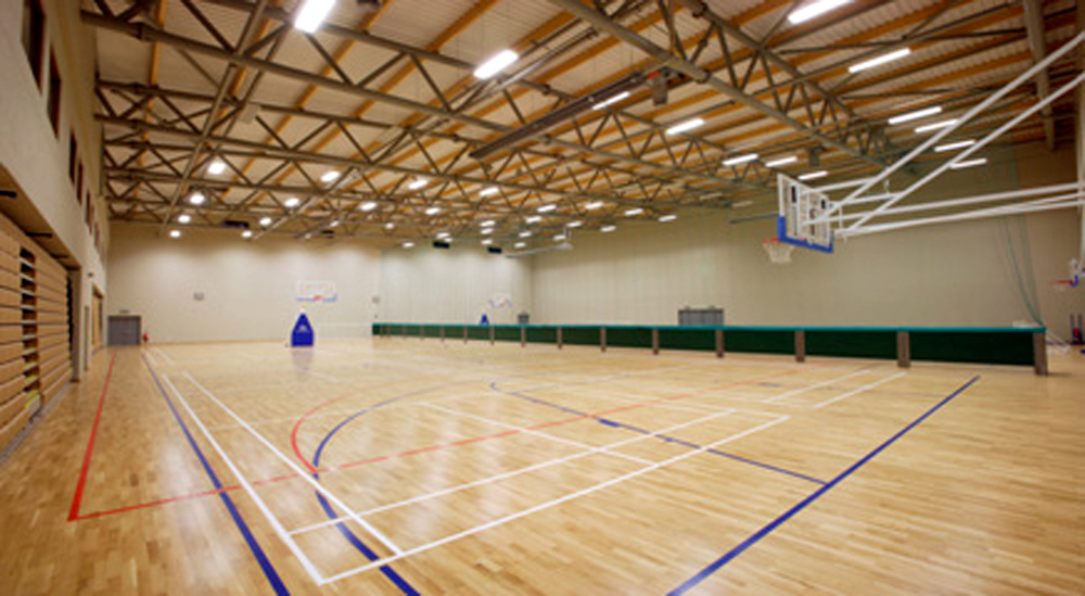 Interior image of Greystones gymnasium