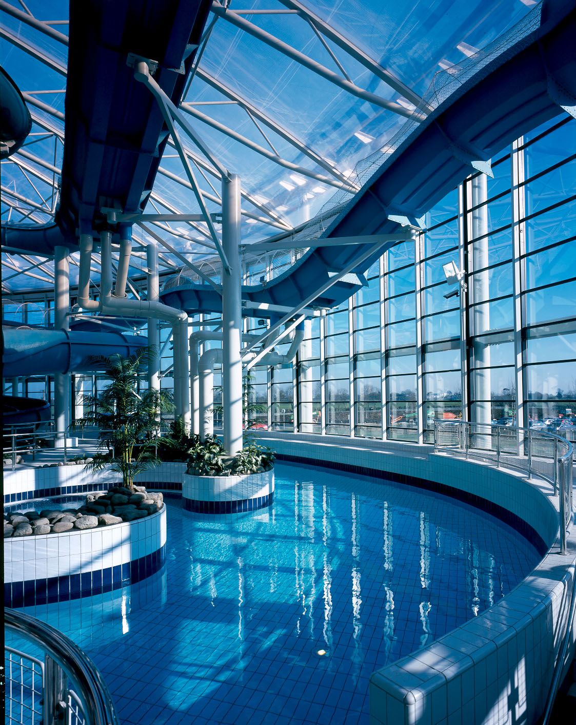 Lazy River before Opening National Aquatic Centre Dublin