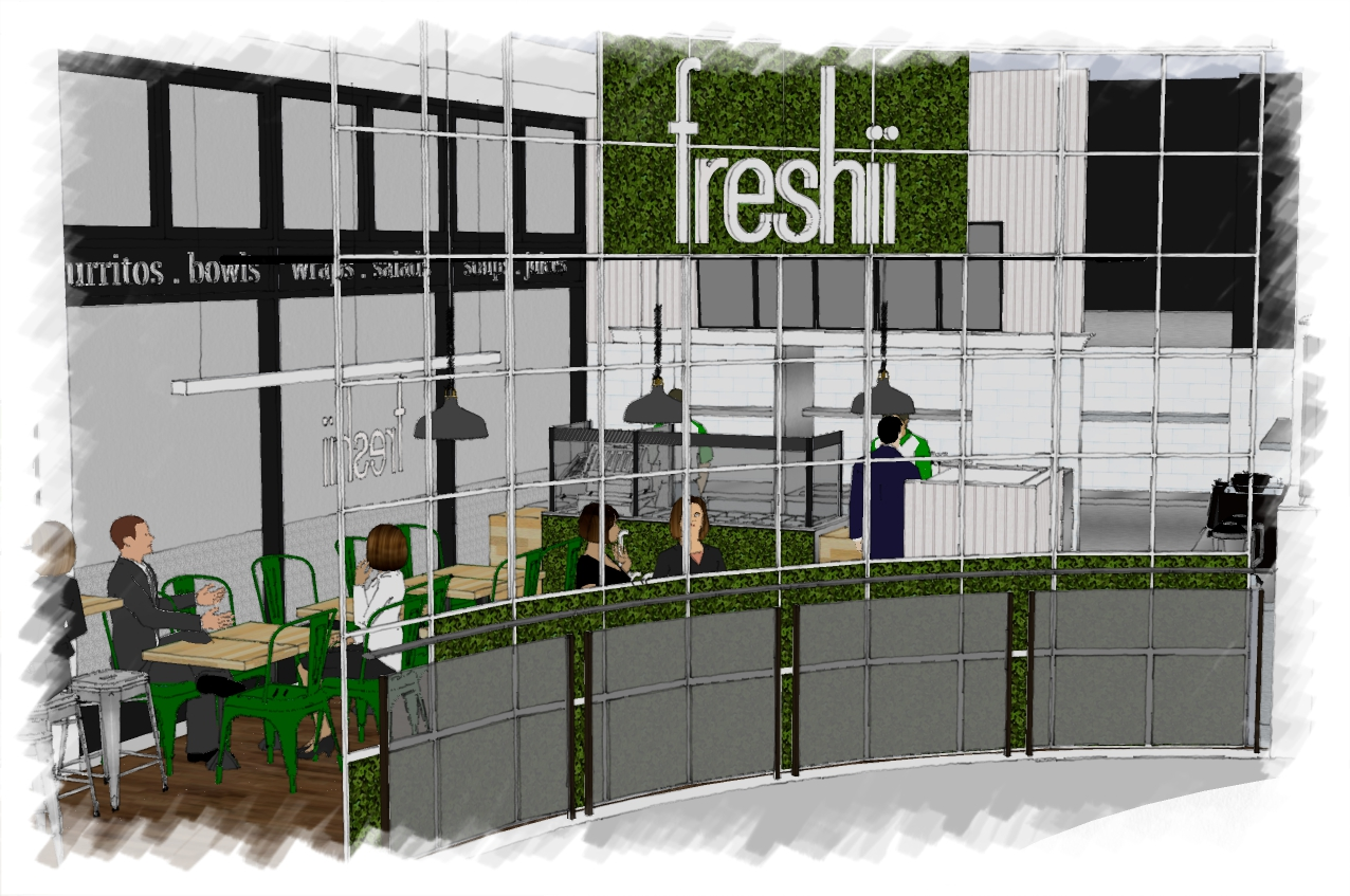 Artist Visual of Freshii Restaurant