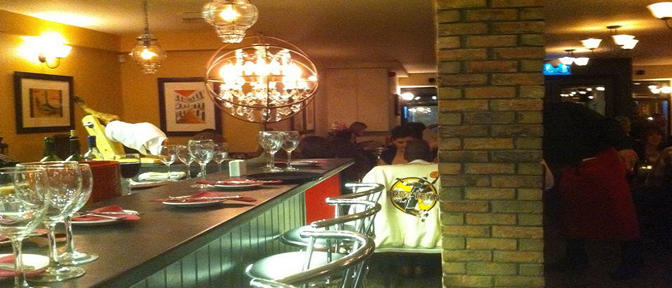 The Dining Area of Picaderos Restaurant