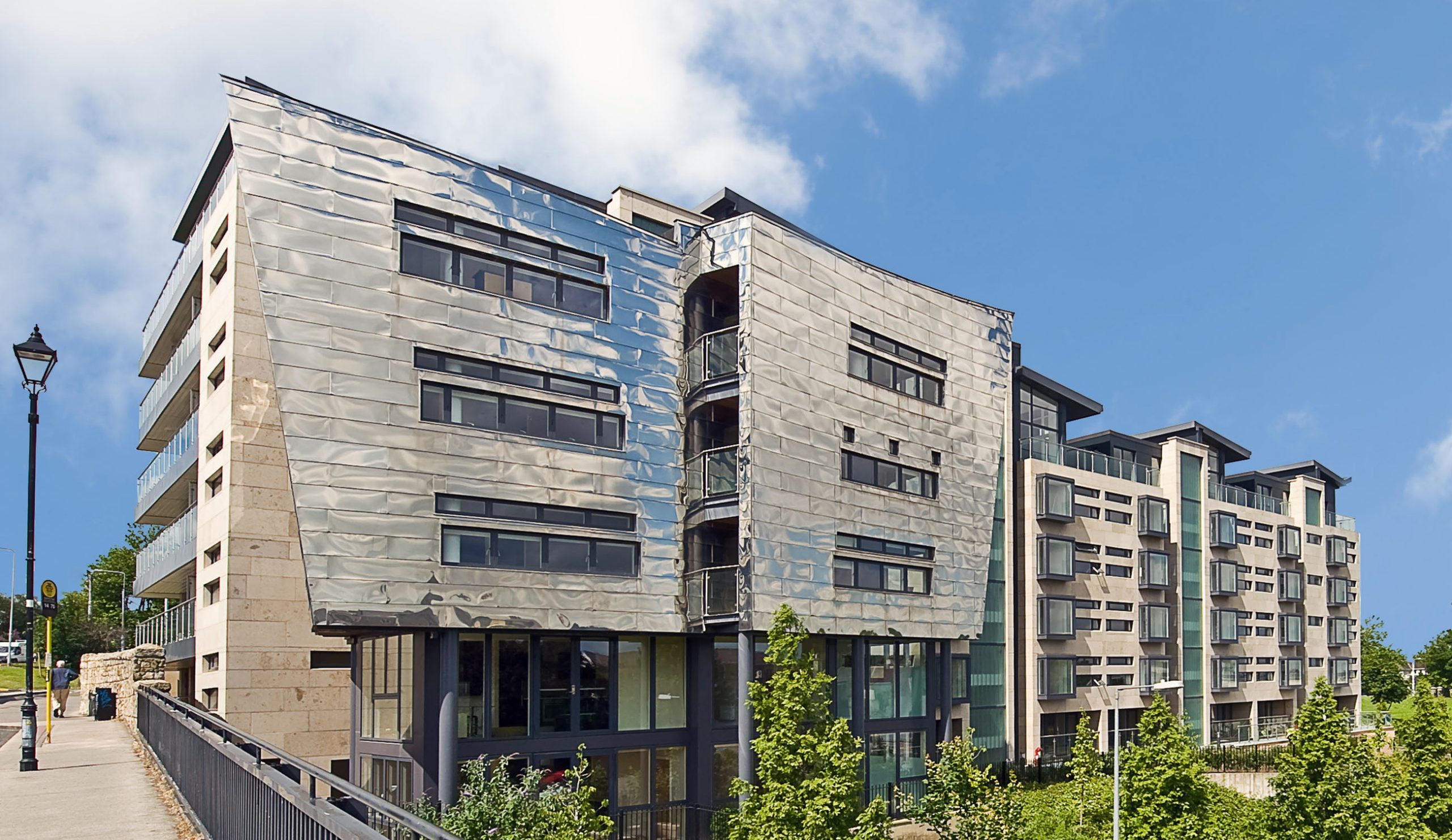 Dundrum View Stainless Steel Facade